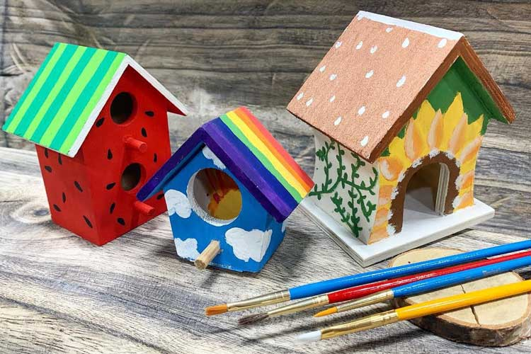 Spring Break: Paint a Mini Birdhouse @ Hazel Dell Location | Vancouver | Washington | United States