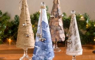 Darice paper mache craft paper cones Bobunny sleigh ride