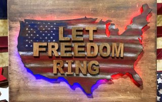 Let Freedom Ring Lighted Sing at Craft Warehouse