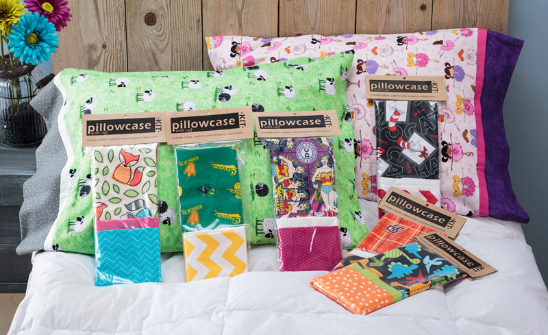 Make your own Pillowcase from a Kit