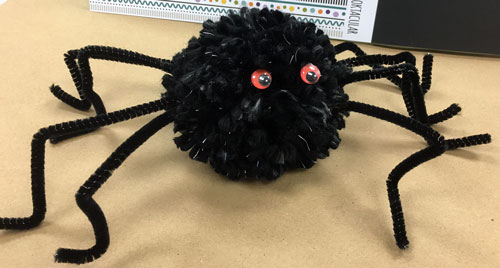 Pom Pom Spider at Craft Warehouse