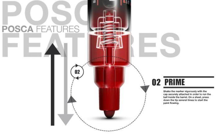Uni Posca Pen Features