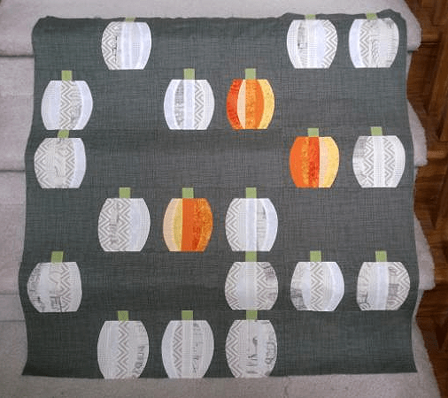 Make a Mini Pumpkins Quilt with a QCR