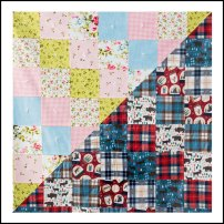 Easy Square Block Quilt Pattern