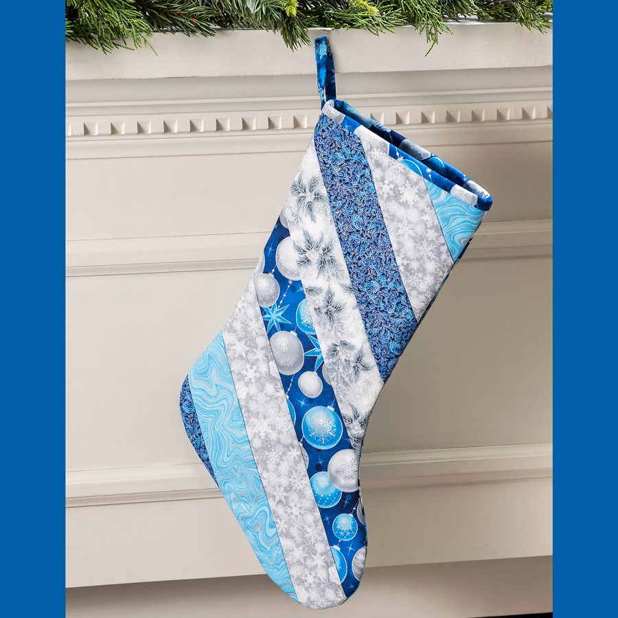 June Tailor Quilted Christmas Stocking Pattern