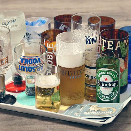Make Recycled Bottles from the Kinkajou Bottle Cutter