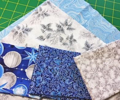 Robert Kaufman Holiday Grandeur fabrics for June Tailor Stocking