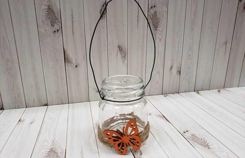 Rustic Jar w/ Butterfly @ Salem Location | Salem | Oregon | United States