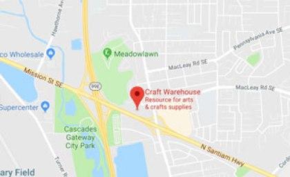 Salem Or Craft Warehouse Location
