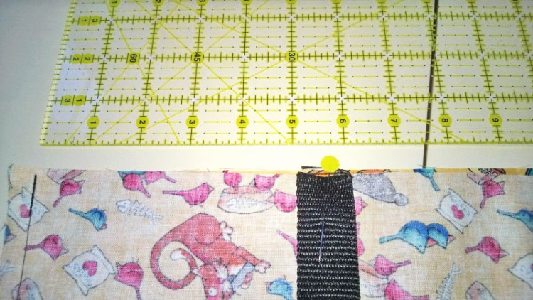 sewing an eco tote