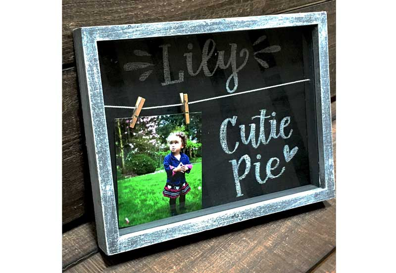Wild Wednesday - Chalkboard Shadowbox @ Hazel Dell Location | Vancouver | Washington | United States