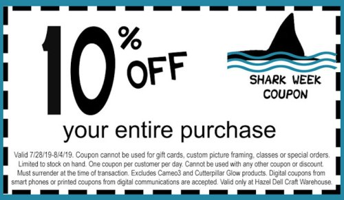 Shark Week Coupon
