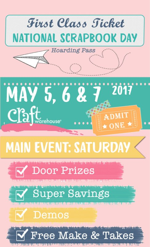 National Scrapbook Day Event