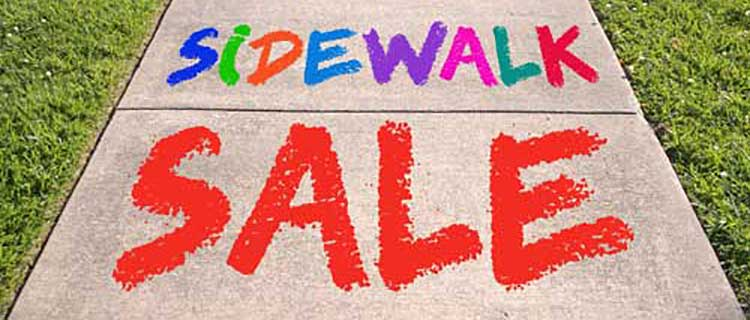 Sidewalk Sale @ All Locations | Medford | Oregon | United States