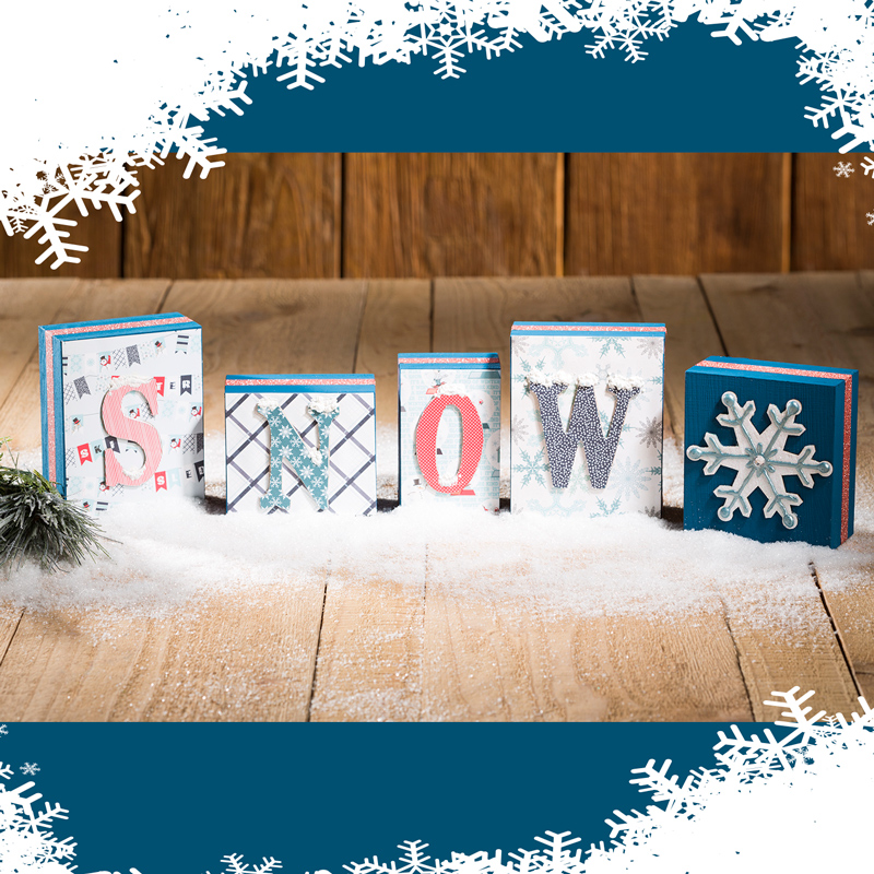 Snow Wood Blocks Project