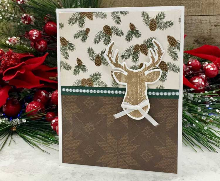 Stag Holiday Gift Card Holder