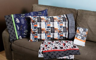 Star Wars Pillow Case Sewing Kits