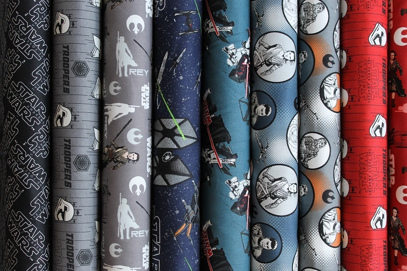 Star Wars The Force Awakening Camelot Fabric