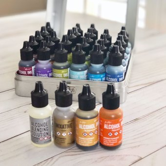 Alcohol Inks by Tim Holtz