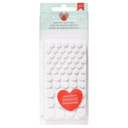 Sticky Thumb Foam Dots at Craft Warehouse