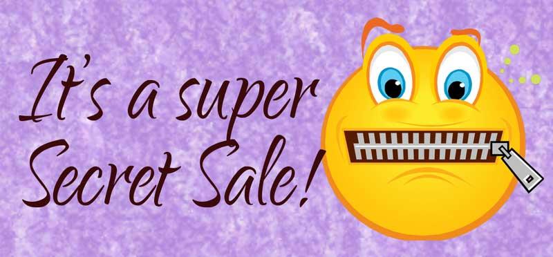 Super Secret Sale