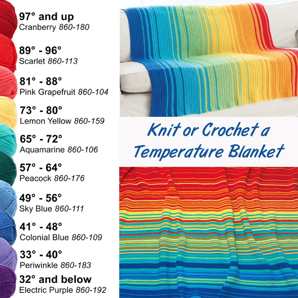 How to Make a Temperature Blanket