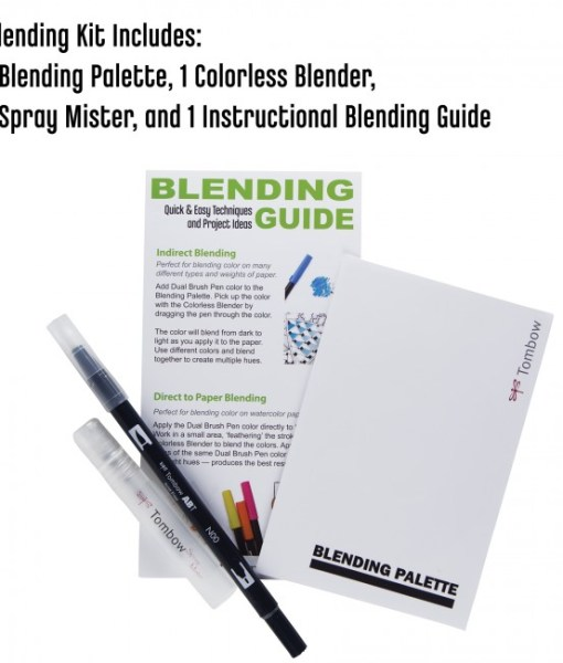 What is in the Tombow Blending Kit
