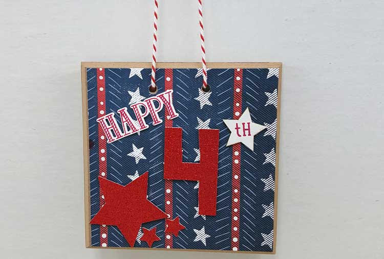 4th of July Door Hanger @ Vancouver Location | Vancouver | Washington | United States