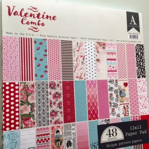 Authentique Valentine Combo paper pack scrapbook