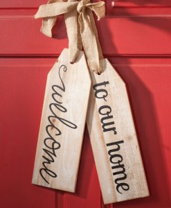 Large Wood tags