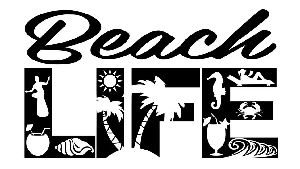 Download Free Beach Life SVG File | Free beach, Cricut, Svg