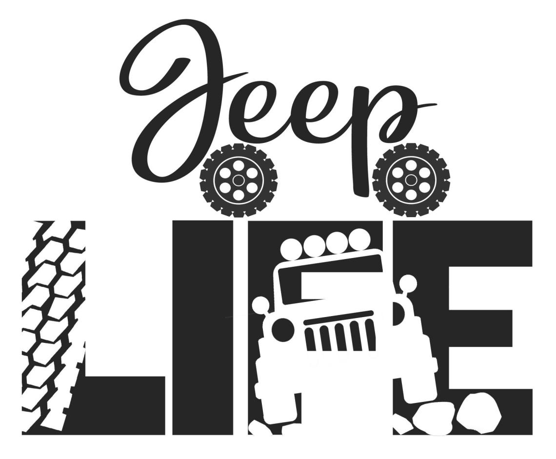 Download Free Jeep Life SVG File - The Crafty Crafter Club
