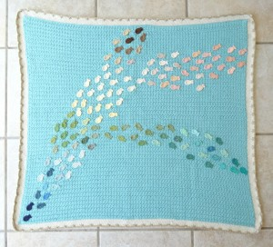 School of Fish Baby Blanket