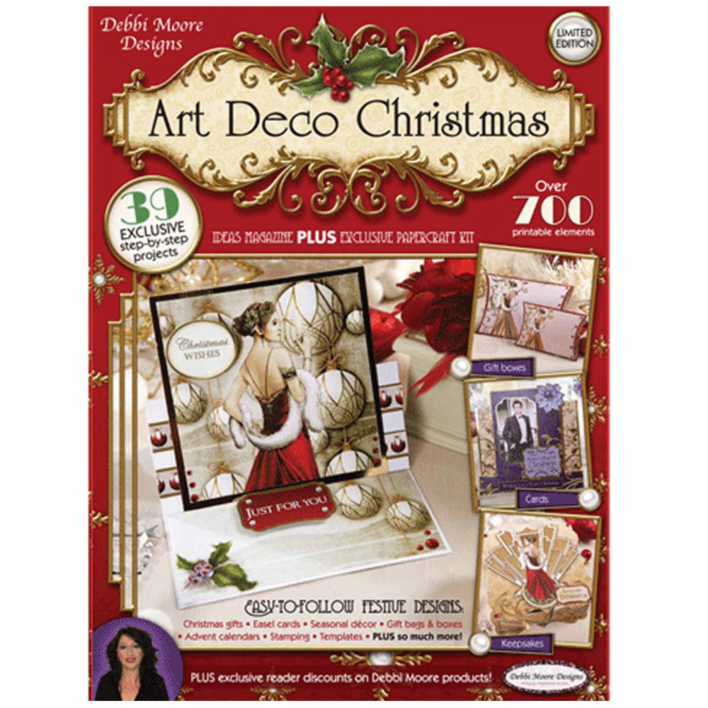 Limited Edition Art Deco Christmas Kit Debbi Moore