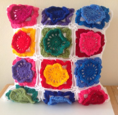 Primrose Flower Cushion