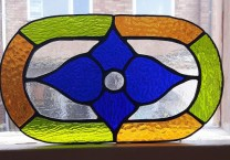 My first stained glass piece.