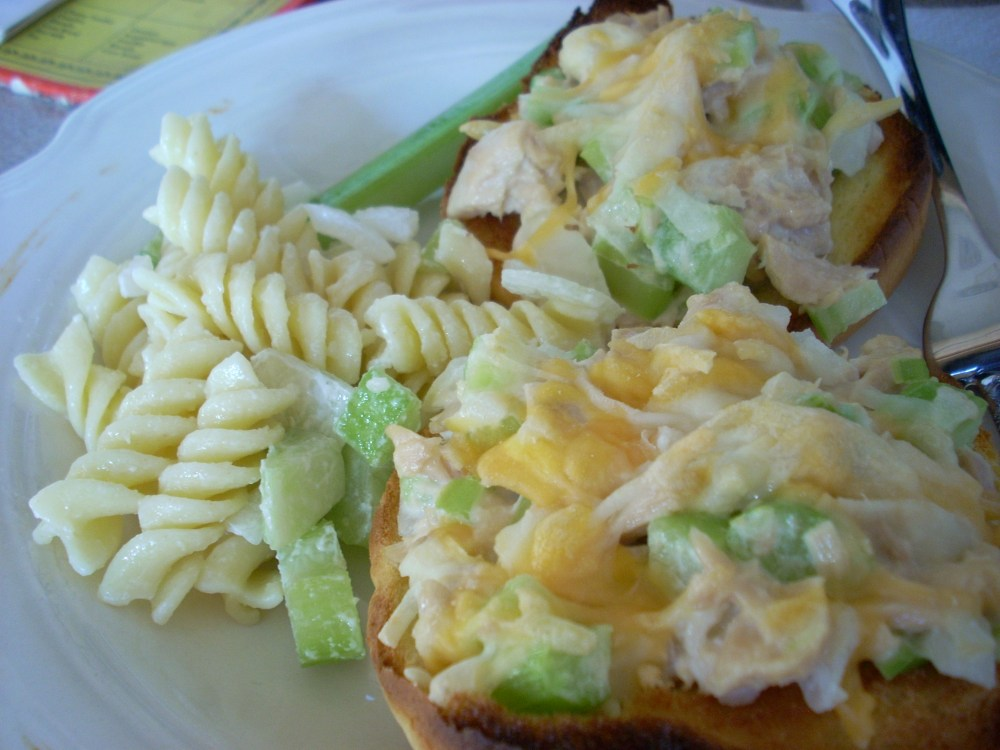 Tuna Cheesies- Like a tuna melt only better (2/2)