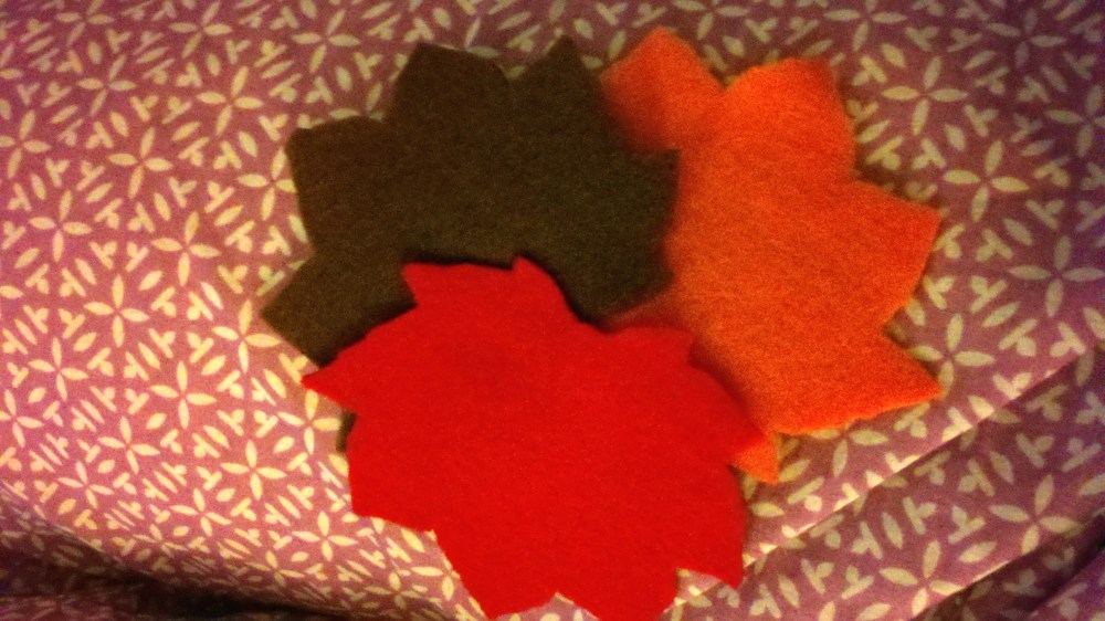 Fall Felt Leaves (4/5)