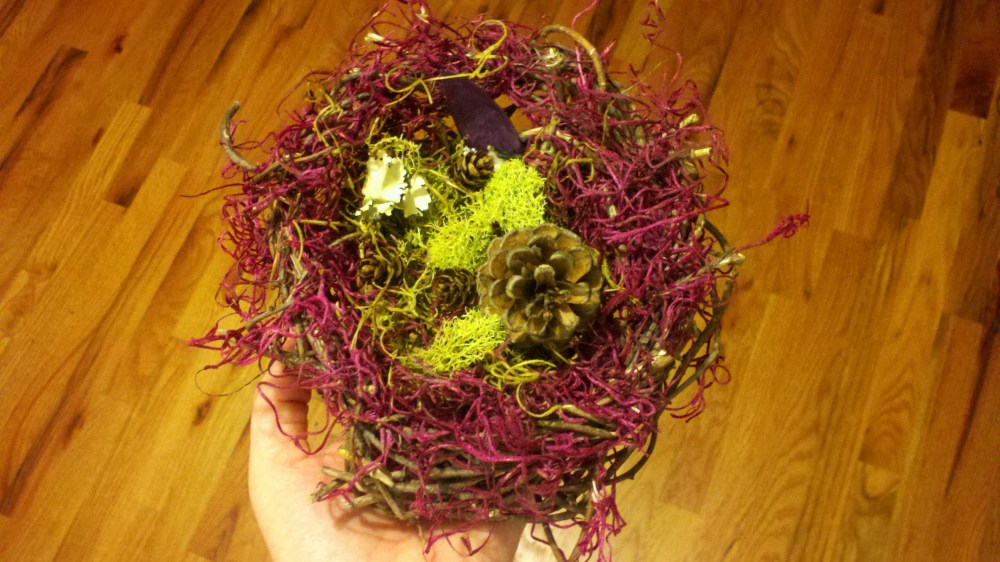 Wedding Details: Ring Bearer Bird's Nest and Flower Girl Basket (3/6)