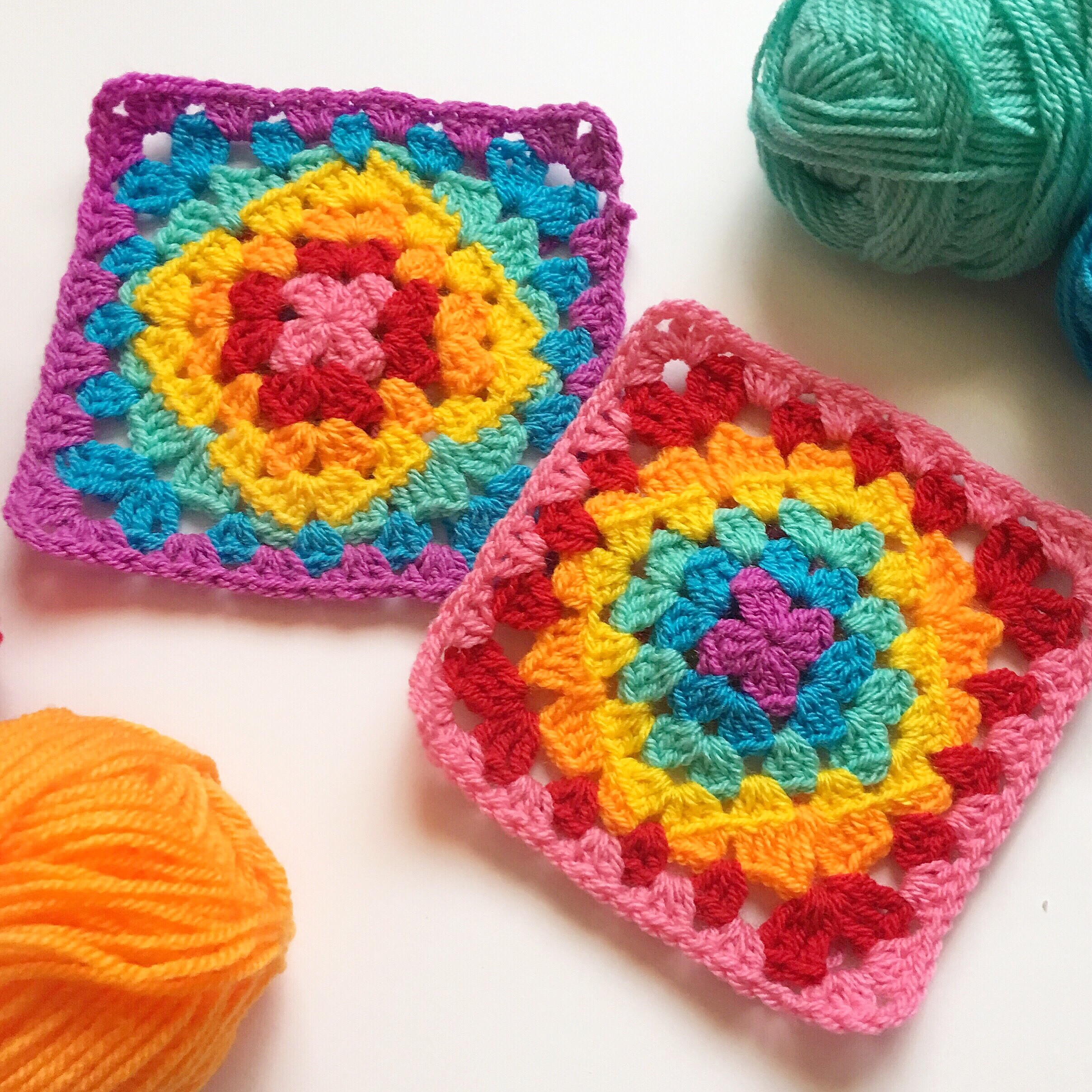 5 rainbow colourways to use in your next crochet project
