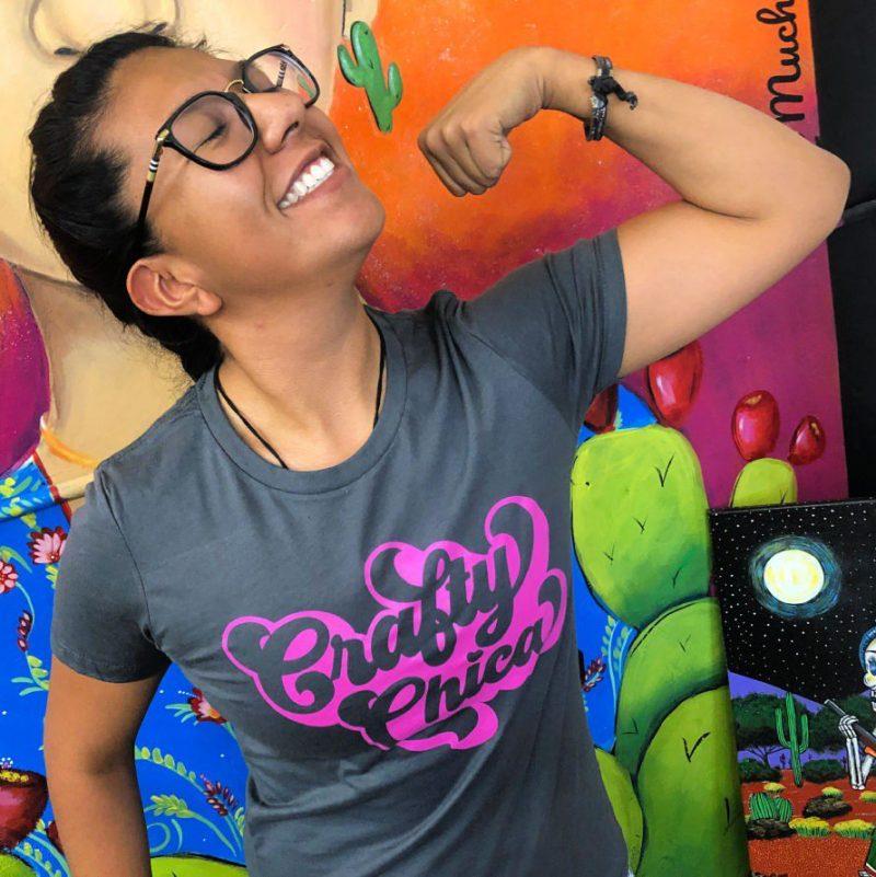 Crafty Chica-t-shirt #craftychica