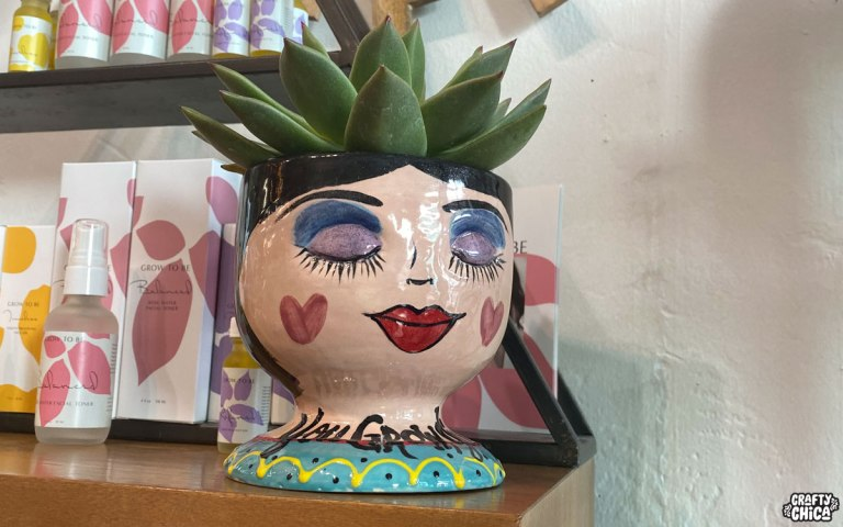 Bisque design by Crafty Chica. #craftychica #pyop #faceplanter