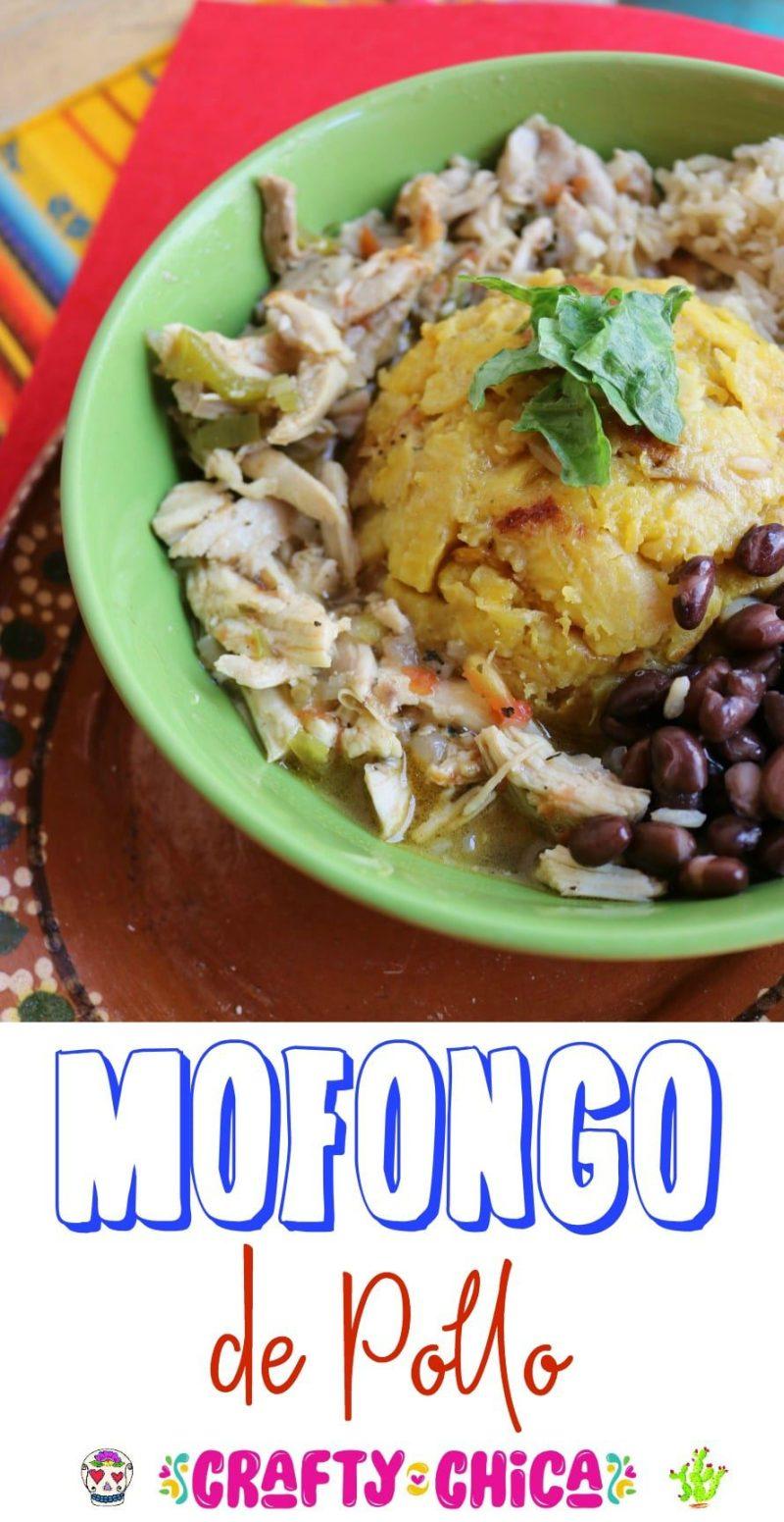 Mofongo-de-pollo