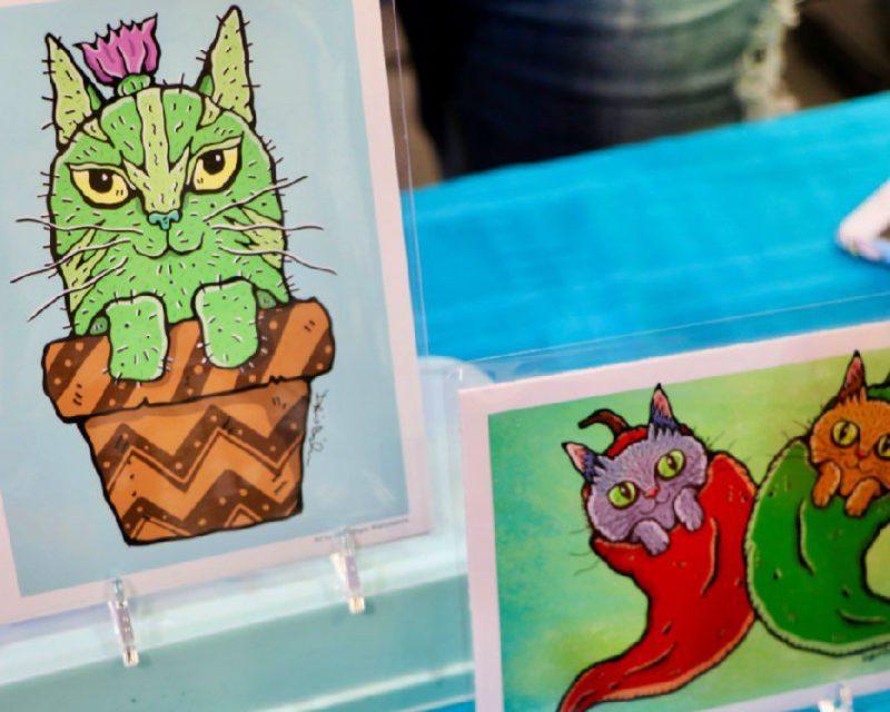 Lab Creature - 10 CatCon Creators #craftychica #catcon #catcrafts #catmakers
