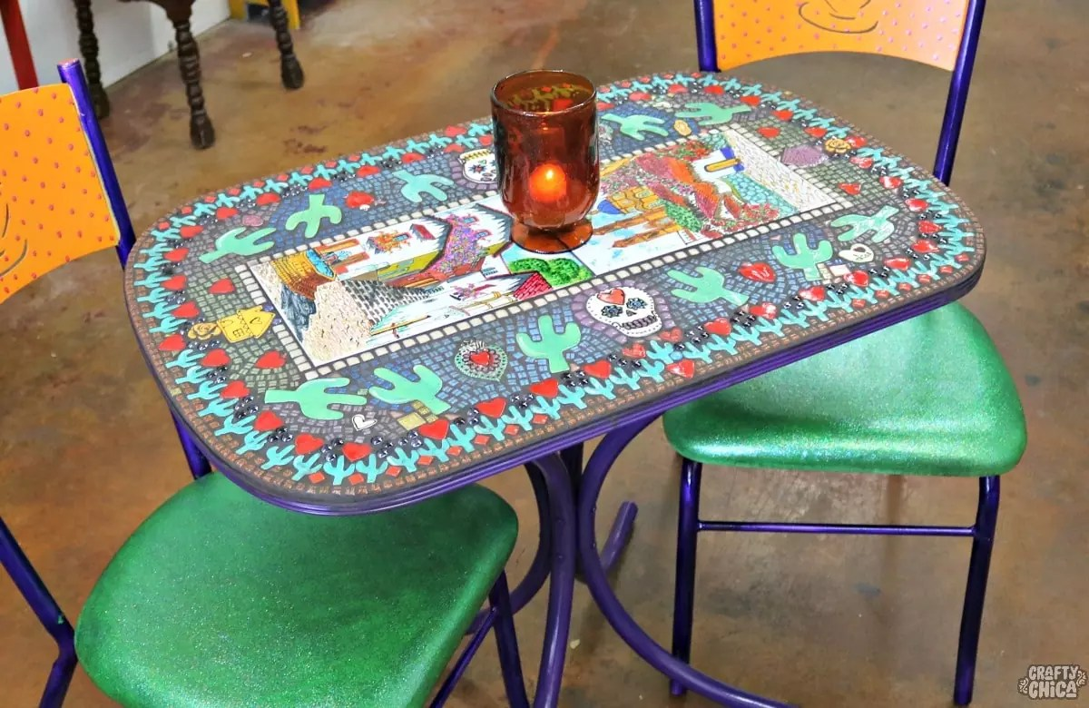 the most epic mosaic table top ever