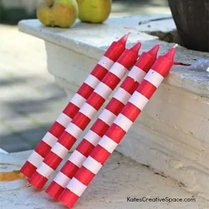 candy-cane-candles