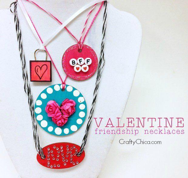 Valentine Friendship Necklaces