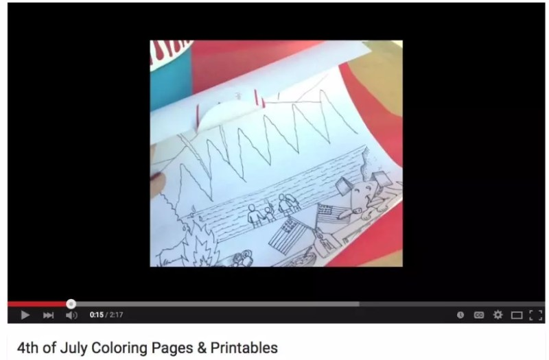 coloring-video