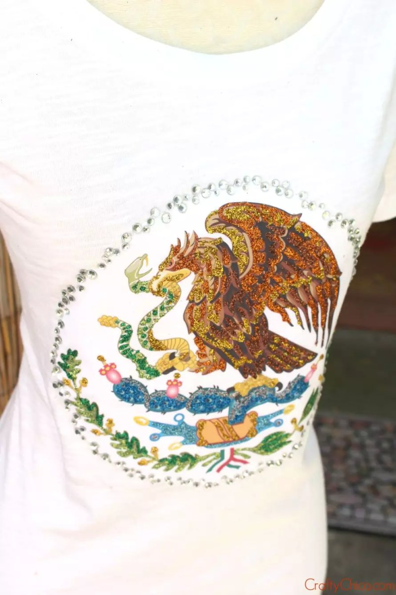 Hispnic Heritage Month Shirt by Crafty Chica.