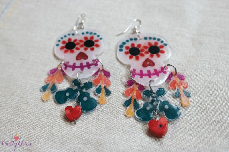 Coco movie earrings